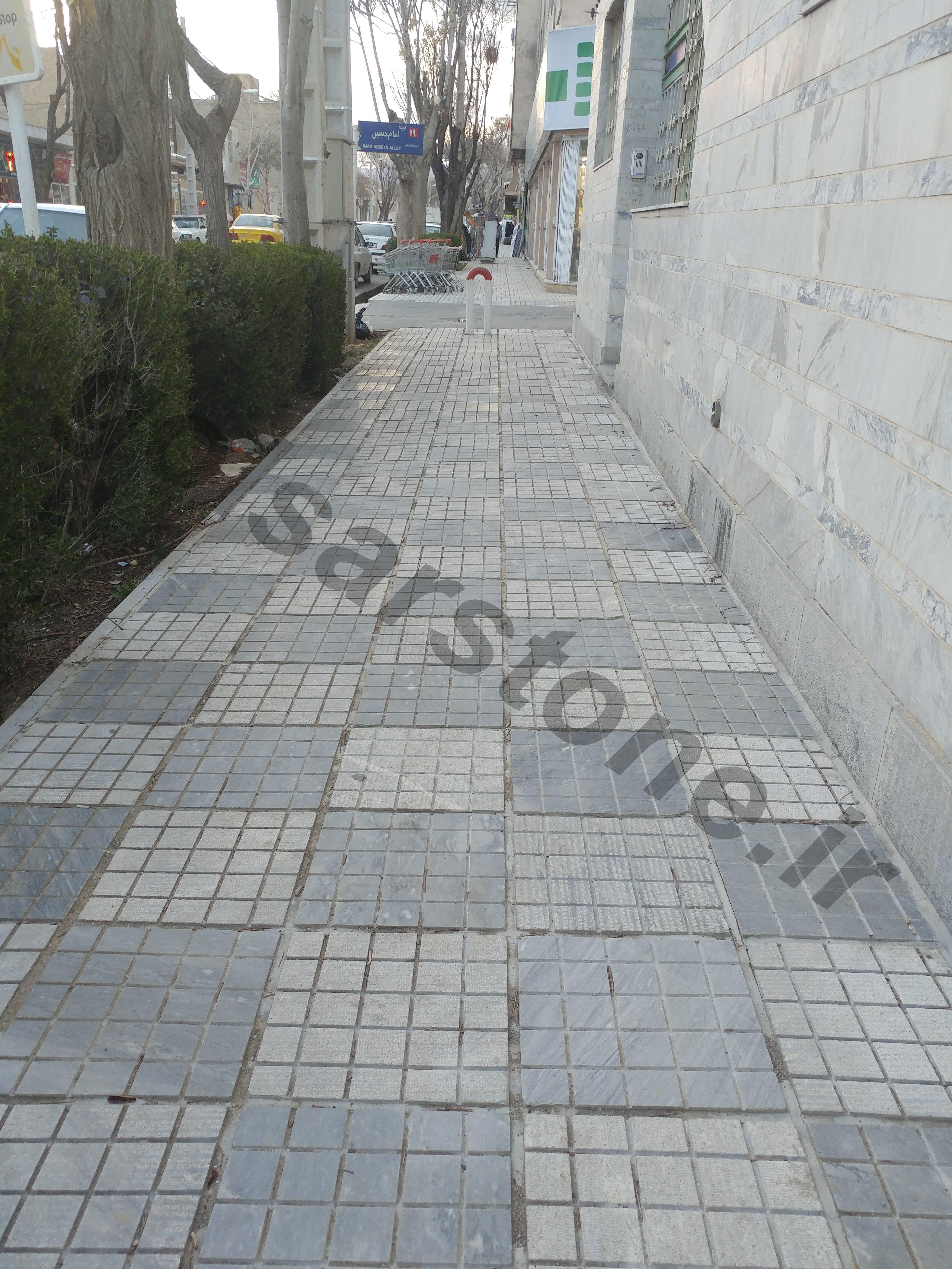 قیمت سنگ فرش پیاده رو